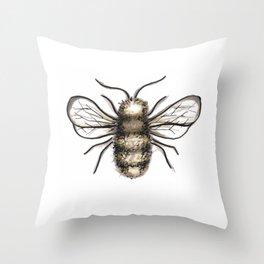 Bumble Bee - Katrina Niswander Throw Pillow