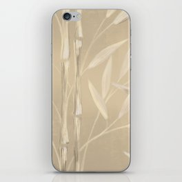 Bamboo - Sand iPhone Skin