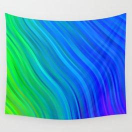 stripes wave pattern 1 stdv Wall Tapestry