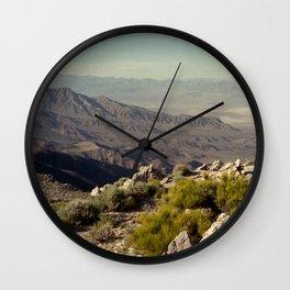 Death Valley Wall Clock