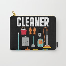 Cleaner Cleaning Lady Job Service Carry-All Pouch
