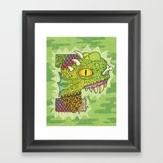 P-rimal  Framed Art Print