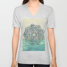 Mandala Mermaid Oceana Unisex V-Neck