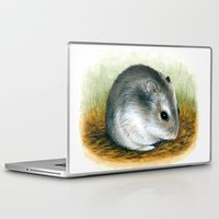 hamster Laptop & iPad Skins featuring Hamster 25 by ArtbyLucie