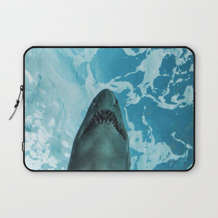 Shark Photography | Deep Sea | Ocean Art | Wildlife | Nature | Fish Laptop Sleeve