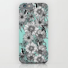 Penguins & Flowers Slim Case iPhone 6s