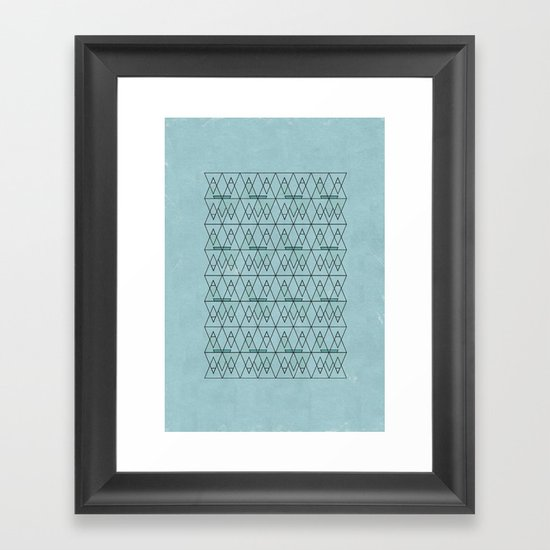 spo·rad·ic  Framed Art Print