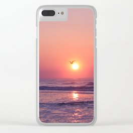 Southern Sunrise Clear iPhone Case