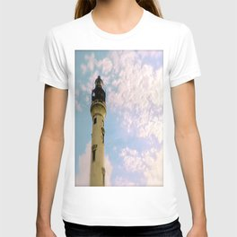 Cloudy at the Lighthouse T-shirt