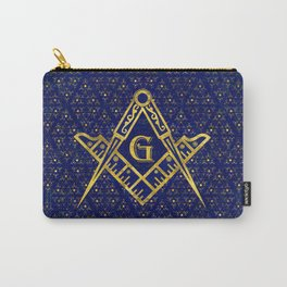 Freemasonry symbol Square and Compasses Carry-All Pouch