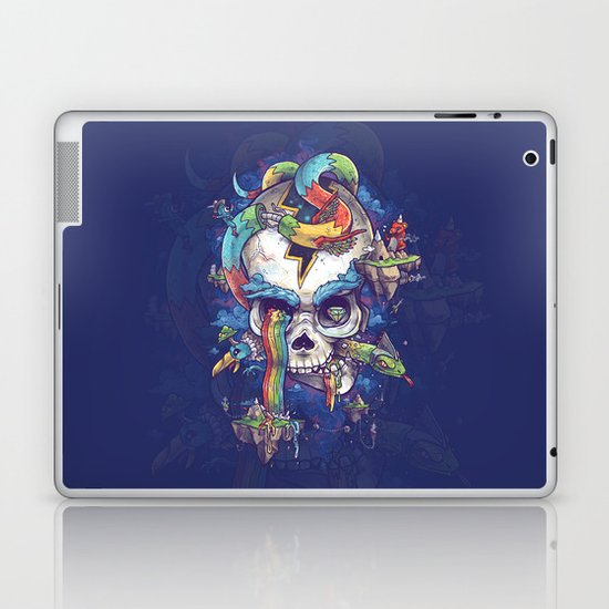 Strangely familiar Laptop & iPad Skin