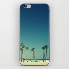 Summer Beach Blue iPhone & iPod Skin