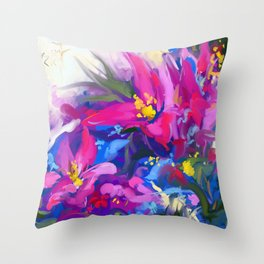 Morning joy Throw Pillow