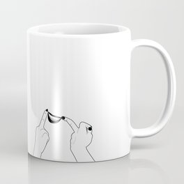 You girls are so pretty, you should smile Coffee Mug