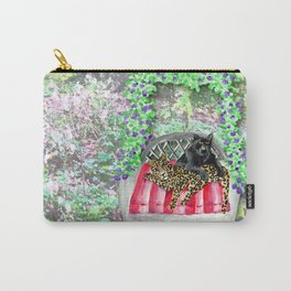 Happy Jaguars Carry-All Pouch
