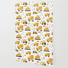 Construction Trucks Wallpaper