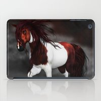 runner iPad Cases featuring Night Runner by Moonlake Designs