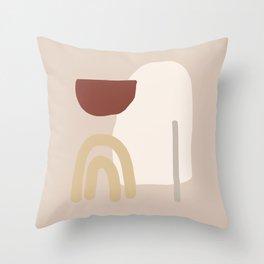 Holidays #shapeart #digitalart Throw Pillow