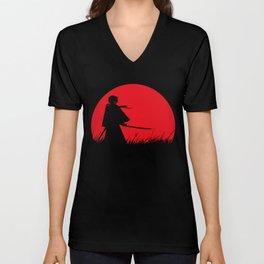 Samurai X Unisex V-Neck