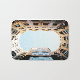 Looking Up in La Pedrera Bath Mat