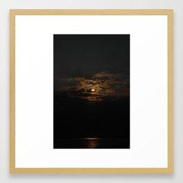 Rocky Point Skies Framed Art Print