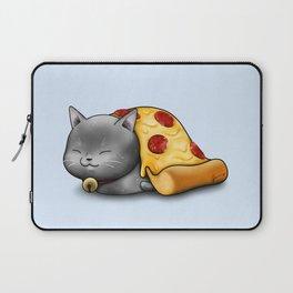 Purrpurroni Pizza Laptop Sleeve