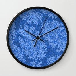 Fantasy leaves 2 Wall Clock