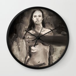 Under safe arms Wall Clock