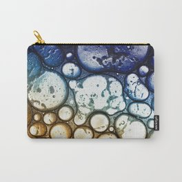 Oil on Water Bubble Drops Abstract I Carry-All Pouch