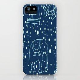 Animais ligando pontos iPhone Case