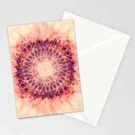 Apricot Mandala Stationery Cards