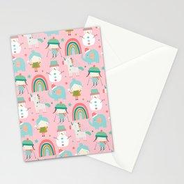 Amazing Snow Globe Design Stationery Cards