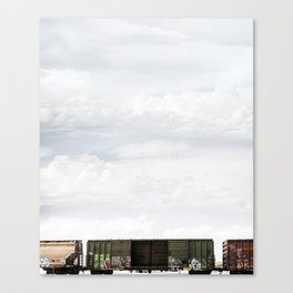 Train 1 Canvas Print