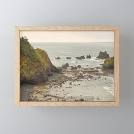 Ecola Point, Oregon Coast, hiking, adventure photography, Northwest Landscape Framed Mini Art Print