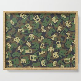 Gamer Camo WOODLAND Serving Tray