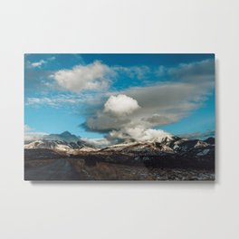 Utah VII - La Sal Mountains Metal Print