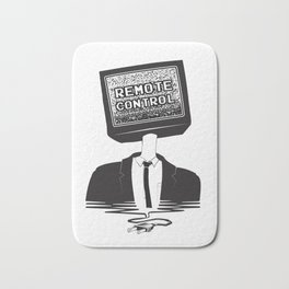 Remote Control: Kill Your TV - Fake News Bath Mat