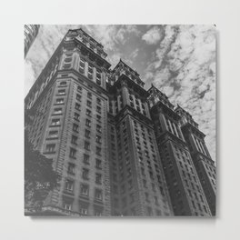 City Building Metal Print