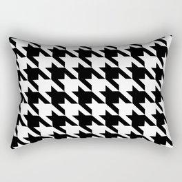 Classic Houndstooth Rectangular Pillow
