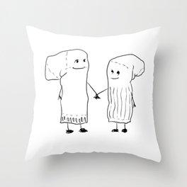 A Perfect Match Throw Pillow