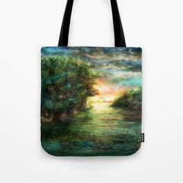 Sunset painting 1 Tote Bag