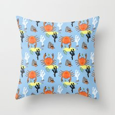 Oh Crab! Throw Pillow