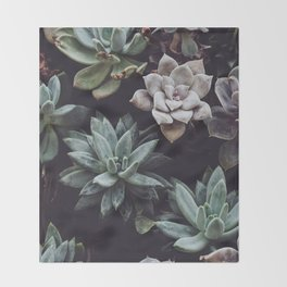 Floral Type Of Love Throw Blanket