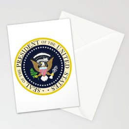 US Presidential Seal Stationery Cards