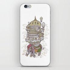 the walking palace iPhone & iPod Skin