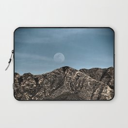 Moon over the Franklin Mountains Laptop Sleeve