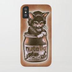 Kitten Loves Nutella Slim Case iPhone X