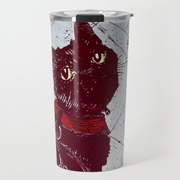Cat on a Leash Travel Mug
