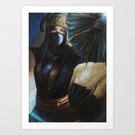MortalKombat - Jingu Kitana Art Print