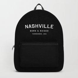 Nashville - TN, USA (Black Arc) Backpack